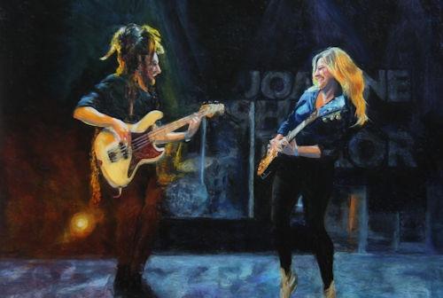 Joanne Shaw Taylor & Luigi Casanova